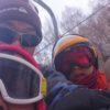 初キャンプ&初スキー