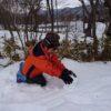 保護中: 雪遊び