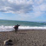 保護中: 海キャンプ