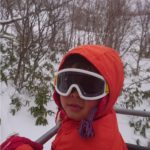 初キャンプ&スキー